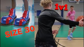 Gigantic Shoe Game Of 1v1!