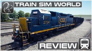 Train Sim World Review (CSX Heavy Haul)