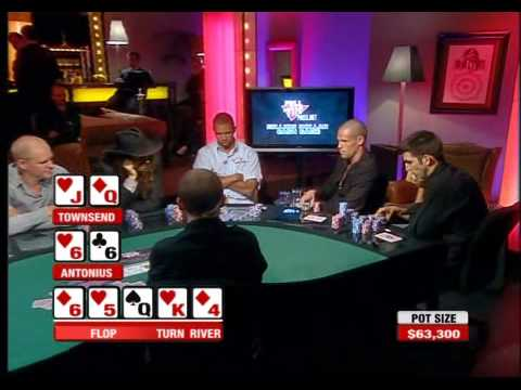 $360,000 Pot between Patrik Antonius and Brian Townsend