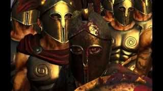 rome 2 machinimas: Spartans, battle Thermopylae