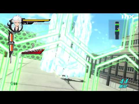 Bleach: Soul Resurreccion - Toshiro Hitsugaya Gameplay HD