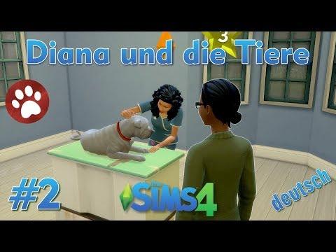 Sims 4 - Diana und die Tiere #2 - Die Tierarztpraxis öffnet ihre Pforten