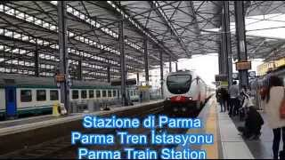 Parma Italy/Parma Train Station-Garibaldi Square
