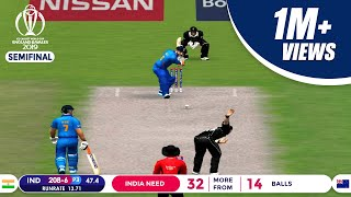 India vs New Zealand Semi-Final | Jadeja's Sensational Knock Highlights| ICC Cricket World Cup 2019