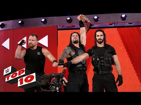 Top 10 Raw moments: WWE Top 10, August 20, 2018 thumbnail