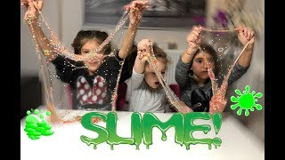 mixing random things into clear transparent slime,Relaxing slime wıth funny color,şeffaf slime
