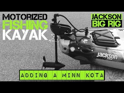 Motorized Fishing Kayak- Jackson Big Rig (2015)