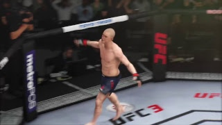EA Sports UFC 3 Testing Out Characters