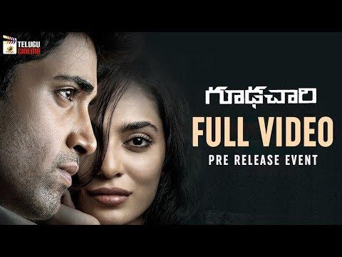 Goodachari Pre Release Event LIVE | Adivi Sesh | Sobhita Dhulipala | #GoodachariPreRelease