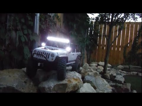 AXIAL SCX10 JEEP WRANGLER UNLIMITED C/R EDITION NIGHT CRAWL