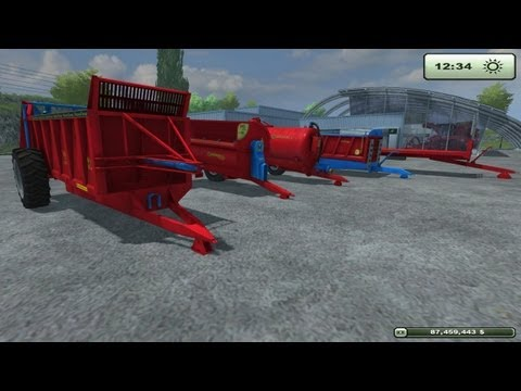 Farming Simulator 2013 Mod Review Giants New Marshall Trailers   DLC