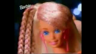 Barbie Glitter hair German Commercial 1994