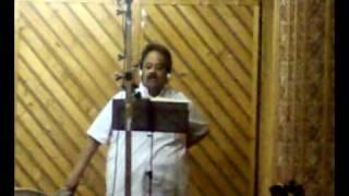 Dr.S.P Balasubramanyam singing for Chinmaya.M.Rao's Music for the album Bhavapayana-7