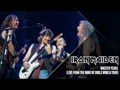 Iron Maiden - Wasted Years (Live From The Book Of Souls World Tour)