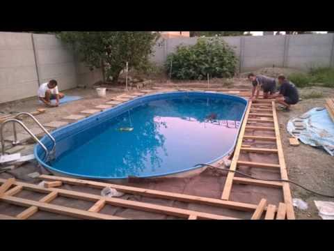 Oválný bazén mountfield