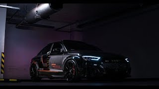 BLACK AUDI RS3 | STAGE 3 | 660HP | MG PREMIUM X GO HARDER MEDIA