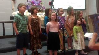 Evelyn and friends sing I'll Be Somewhere Listening
