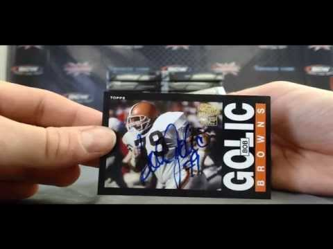 BlowoutCardsTV - Darren S's 2013 Archives Football Box #2