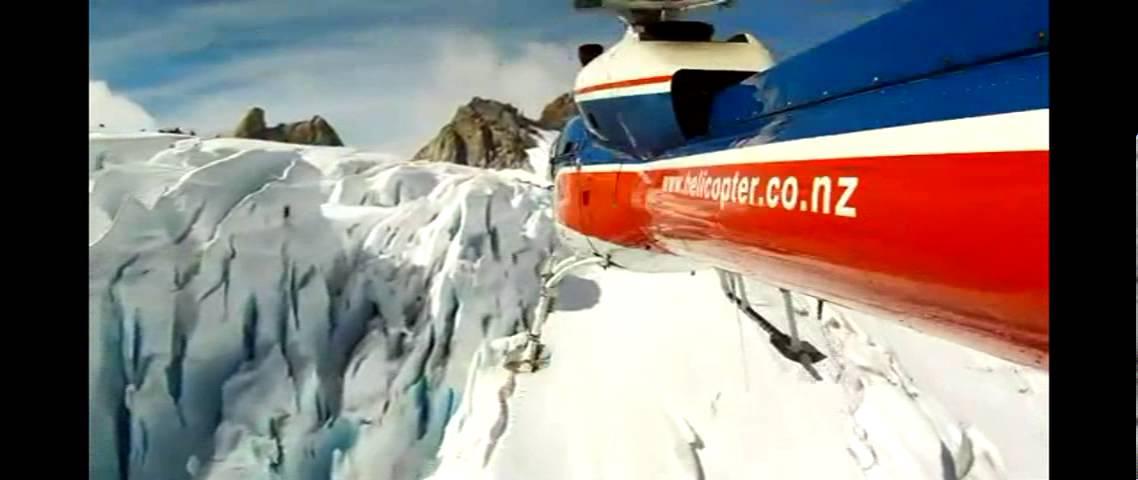 Helicopter Flights Franz Josef Glacier New Zealand  YouTube