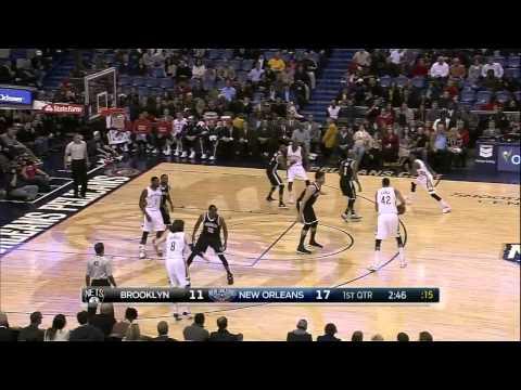 Markel Brown's 360-Degree Dunk | Nets vs Pelicans | February 25, 2015 | NBA 2014-15 Season