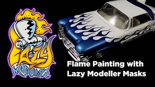 How to Paint Flames on Model Cars
