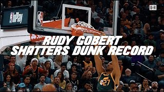 Rudy Gobert Broke The Single Season Record For Dunks | Watch All 306 Finishes At The Rim