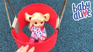 Rainy Day at the Park with Zoe and our Baby Alive So Many Styles Baby