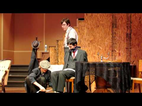 Arsenic And Old Lace ~ Mortimer Bound And Gagged Scene ~ Muncy High School.mov video