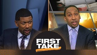 Jalen Rose challenges Stephen A. Smith with take on Warriors' injuries | First Take | ESPN
