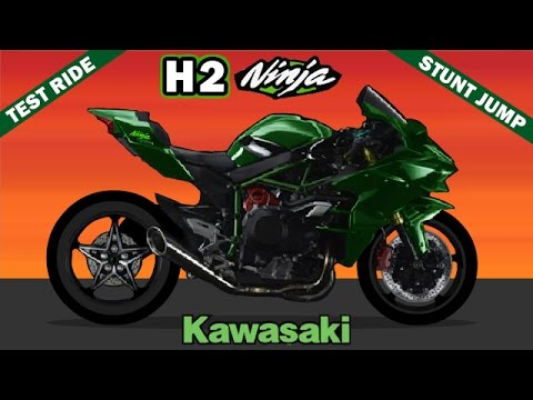 kawasaki h2 ninja wheelie stunt jump test ride h2r zx10. Black Bedroom Furniture Sets. Home Design Ideas