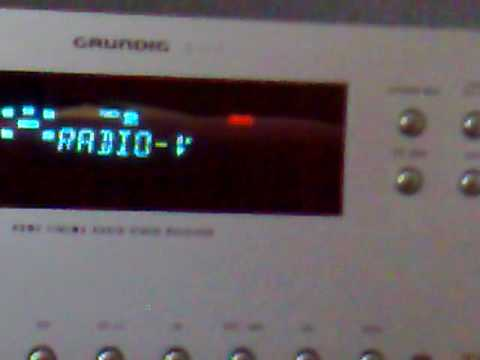 UKW Scan 97,5 - 108,0 Mhz - Grundig AVR 5200