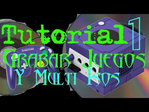 Tutorial En Español - Como Grabar Juegos De GameCube Y Hacer Multi Iso (HD)