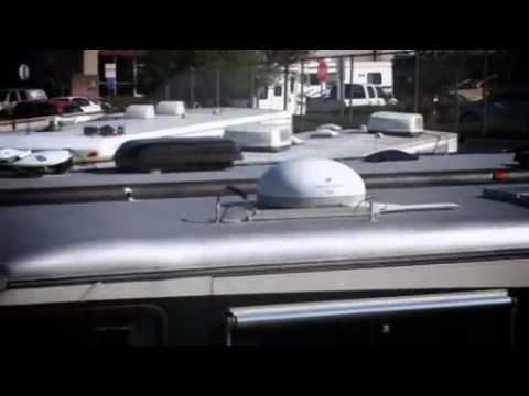 Rhino Linings Rv Roof Repair Youtube