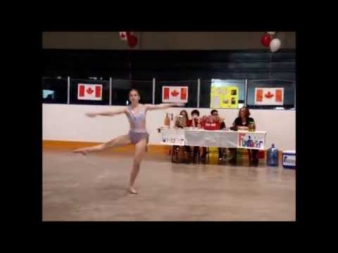 Amanda Bruce, amazing dance perfaormance at Shelburne's CDRC on Canada Day 2015