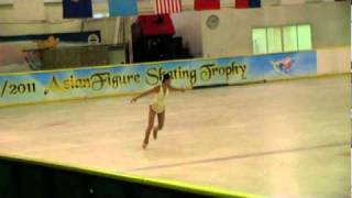 Angela Chow @ 2010 Asia Figure Skating Trophy
