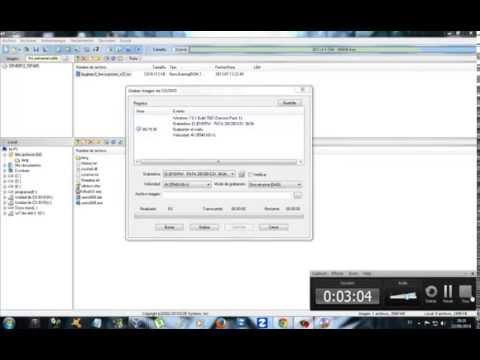 Como quemar un sistema operativo en un CD/DVD en español (Ultraiso)