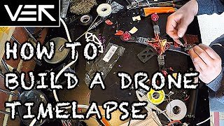 How to Build a Drone: Alien 2 Hour Build Time Lapse in 8 Minutes
