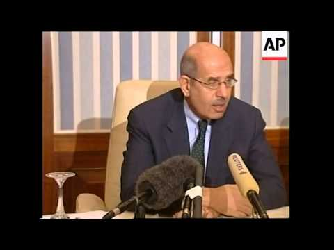 ElBaradei says Libya to allow spot weapons checks