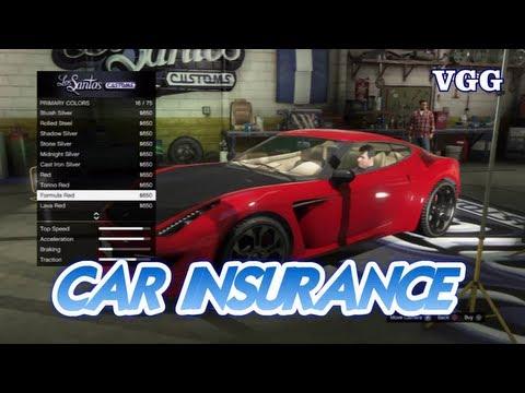 Car Insurance Explained/Cars Not Saving/Disappearing GTA V 5 Video Game Genius