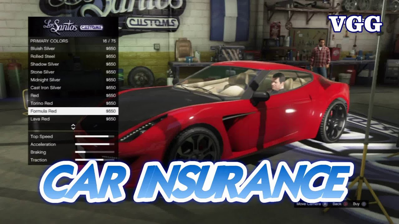 Gta  Online How To Get Car Insurance