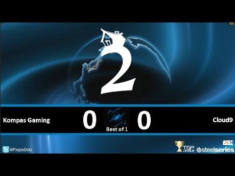 Dota2 - Kompas Gaming vs Cloud9 [SUMMIT2] Caster Pingac