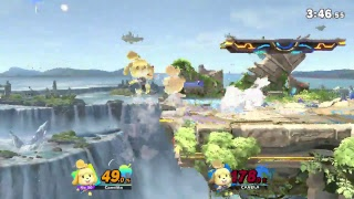 Super Smash Bros Ultimate | Entrenamiento Amiibo | Canela | 2