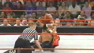 WWE Raw (2004) - Edge, Tajiri & Shelton Benjamin vs Evolution - 5/3/04