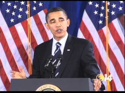 President Obama visits Forsyth Technical Community College