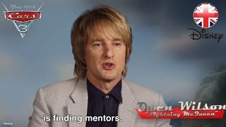 CARS 3   Owen Wilson & Cast Remember Their Mentors   Out Now   Official Disney UK