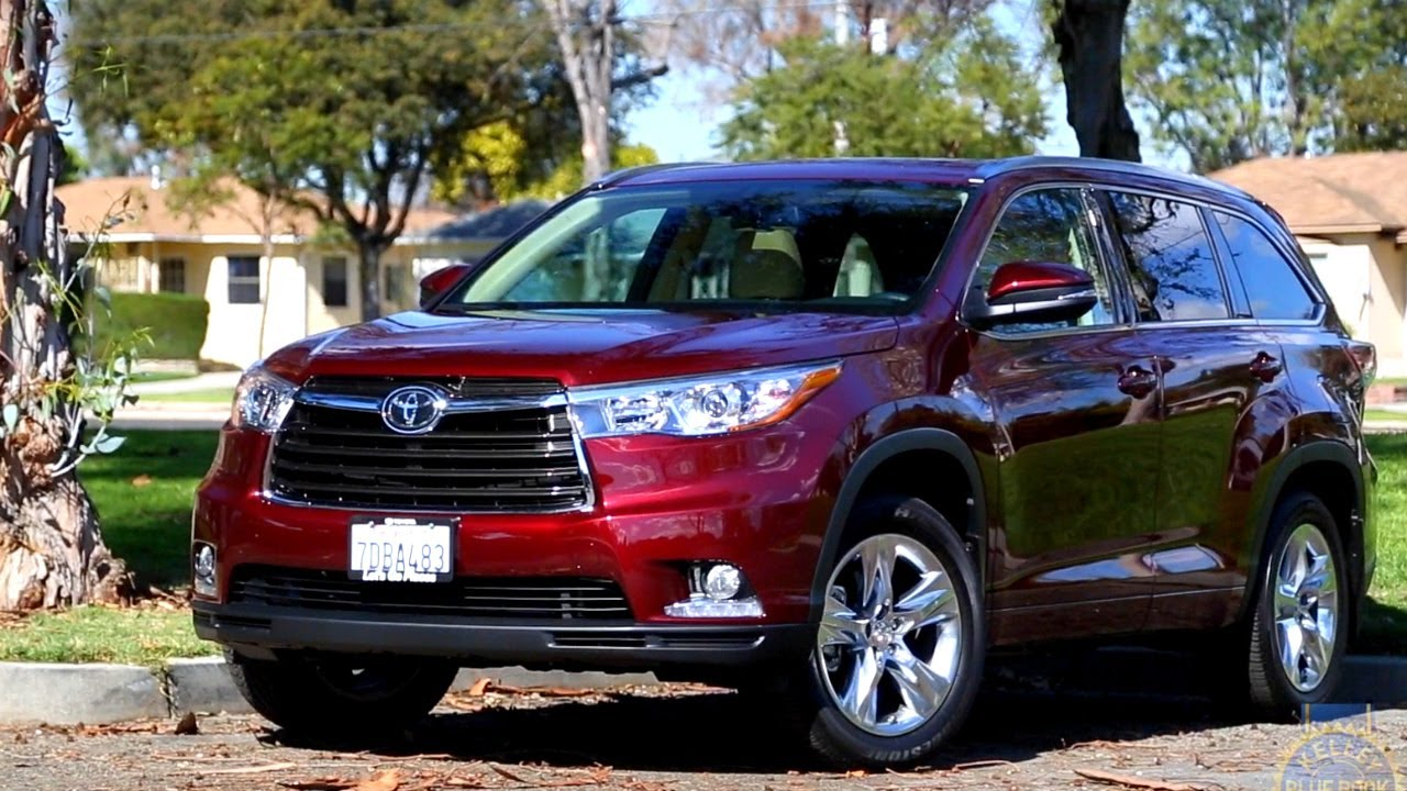 2015 Toyota Highlander Review - Kelley Blue Book - YouTube