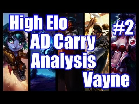 How to carry with AD Carry Ep2: Vayne | Lane phase, Teamfighting, Positioning