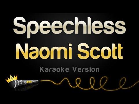Naomi Scott - Speechless (Karaoke Version)
