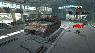 Maus - World of Tanks Blitz *4K*
