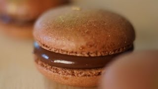 French Macarons w/ Nutella Filling